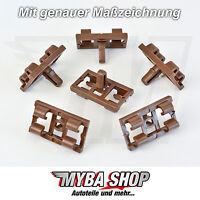 5x Joint de Porte Clip de Moulage Clips pour BMW X5 E53 - 51337052945