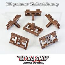 4x Türdichtung Zierleistenklammer Clips für BMW X5 E53 - 51337052945