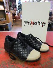 Yves Desfarge Shoes - Royal - Black Beige - New in Box - Women's Size 6