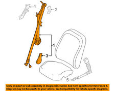 FORD OEM 08-11 Focus Front Seat Belts-Retractor Assembly Left 8S4Z54611B09AA