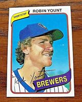 1980 Topps #265 Robin Yount - Brewers HOF