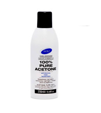 Haz 100% Gel Polish Remover Acetone UVLED Nail Polish Cleaner Manicure Fast Post