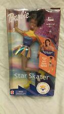 AFRICAN AMERICAN MICHELLE KWAN STAR SKATER BARBIE 2002 Salt Lake Olympics NRF