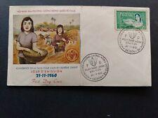 Vietnam - SC. # 144 - FDC cover Rice Farmer's (1960)
