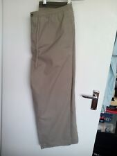 Bhs men's elasticated waist casual trousers size medium leg 31