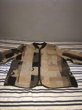 Dressbarn Womens Tapestry Multi Color Long Sleeve Zipper Jacket Size 1X