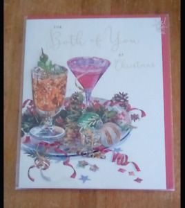 for both of you at christmas card 16cm x 20cm