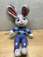 Disney Zootropolis Judy Hoppy Talking Soft Toy Plush Talks Rabbit Large  14 Inch