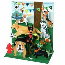 Pop-Up Sight 'n Sound Greeting Card by Up With Paper - Dogs