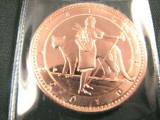 2010 1 Amero Copper Indian Puma Fantasy Coin Daniel Carr UNA with COA