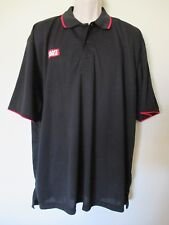 GIANT EAGLE GROCERY STORE EMPLOYEE WORK STAFF POLO SHIRT BLACK SIZE XXL UNISEX