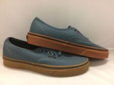 """Vans Men's Shoes """"Authentic"""" --(Gum)--Dark Slate/Black"""
