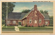 American Legion Home in Florence AL Postcard