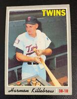 1970 Harmon Killebrew # 150 Minnesota Twins Topps Baseball Card HOF