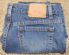 Vintage Levis 505 Women's Jeans Size 12M Petite Denim Made in the USA 32x28