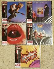 SAMMY HAGAR + HSAS - JAPAN COMPLETE SET - 5 CD - FACTORY SEALED - NEW