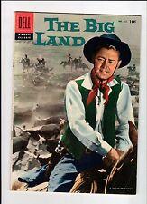 Dell Four Color #812 The Big Land 1957 Vg Vintage Comic