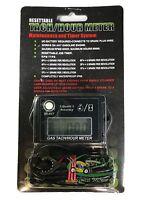 New Digital Tiny Tachometer Tach Hour Meter Job Timer Resettable Kohler Briggs