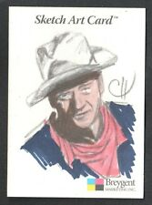 John Wayne Collector Cards (Breygent/2005) Sketch Card by Chris Henderson Color