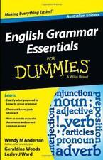 English Grammar Essentials For Dummies by Ward, Lesley J., Woods, Geraldine, And