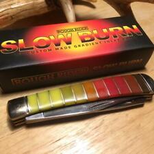 "Rough Rider ""Slow Burn"" Series Trapper 4 1/8"" Pocket knife RR1437"