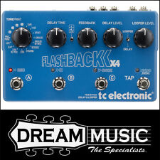 TC Electronic Flashback X4 Delay Stereo Guitar Effects Pedal RP$529