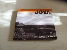 JOYA - You And Me EP - 2004 UK 4-track advance promotional CD-R