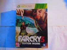 farcry far cry 3 insane  xbox360 xbox 360 édition collector neuf sous blister
