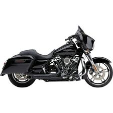 15-17 Harley STREET750 Two Brothers Comp-S Slip-On Exhaust Black with Carbon Endcap