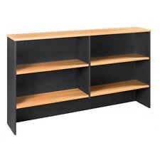 NEW Office Home Desk Overhead Hutch Bookshelf Bookcase Shelving 1200 W
