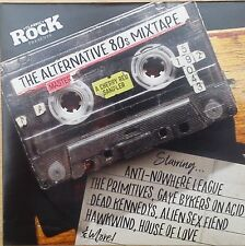 Classic Rock Magazine The Alternative 80s Mixtape (CD 2016) CD From Issue 232