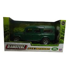 Teamsterz 4 x 4 Defender Die Cast Land Rover Green Farm Vehicle Car NEW BOXED