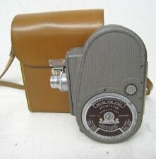 BELL & HOWELL Filmo Double Run Eight, Wind Up Sportster Movie Camera With Case