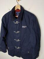 Ralph Lauren Polo Sport Small Jacket Goshen Navy Blue RRL Fireman Coat Rugby vTG