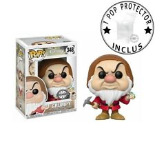 FUNKO POP DISNEY N°348 GRUMPY GRINCHEUX WITH DIAMOND exclu vendu avec protector
