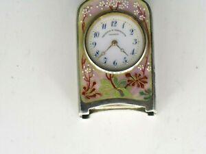 Enamel Carriage Clock