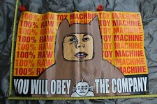 Toy Machine Skateboards Obey 90's Rare Skateboarding 32x48in Shop Display Banner