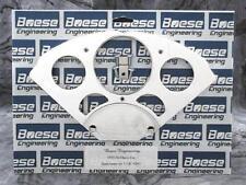 55-56 Chevy Car Billet Aluminum Gauge Panel Dash Insert Instrument Cluster