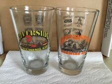 Riverside Brewing Co Set Of 2 Pint Beer Glasses