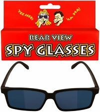 Spy Glasses Sunglasses Gadget With Rear View Mirror Fun Toy Joke Fancy Dress