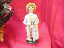 2000 Byers Choice Carolers Victorin Girl Croquet Player w Mallet Perfect! b140