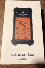 NEW VOICE CADDIE SC200 SWING PORTABLE LAUNCH MONITOR BLUE