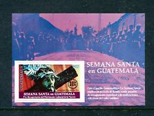 GUATEMALA C620, 1977 HOLY WEEK TYPE, S/S, MNH (GUA001)