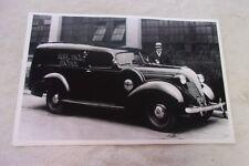 1937 HUDSON TERRAPLANE SEDAN DELIVERY   11 X 17  PHOTO  PICTURE