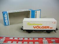 M481-0,5# Märklin/Marklin H0 Containerwagen, Spielwaren Völger, DB, TOP+OVP