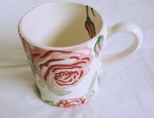 1st Quality Emma Bridgewater Pottery Pink Roses Flowers 1/2  Half Pint Mug NEW
