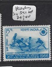 INDIA  (P1308B)  FIELD HOCKEY  SG 541   MNH