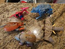 Transformers Beast Wars lot of Five,INCOMPLETE