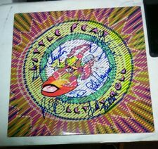 Little Feat Let It Roll Rare Autographed Album Cover Only No Lp 1988 Warner Bros