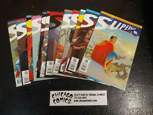 All Star Superman #1-12 COMPLETE SERIES SET!!! DC Comics 2006 Morrison VF-NM